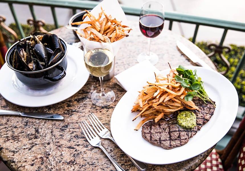 Mussels & Steak Frites